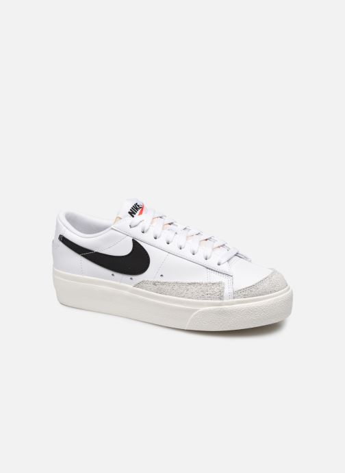 Sneakers Nike W Blazer Low Platform Wit detail