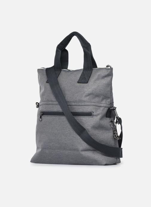 Handtaschen Kipling Eleva grau ansicht von rechts
