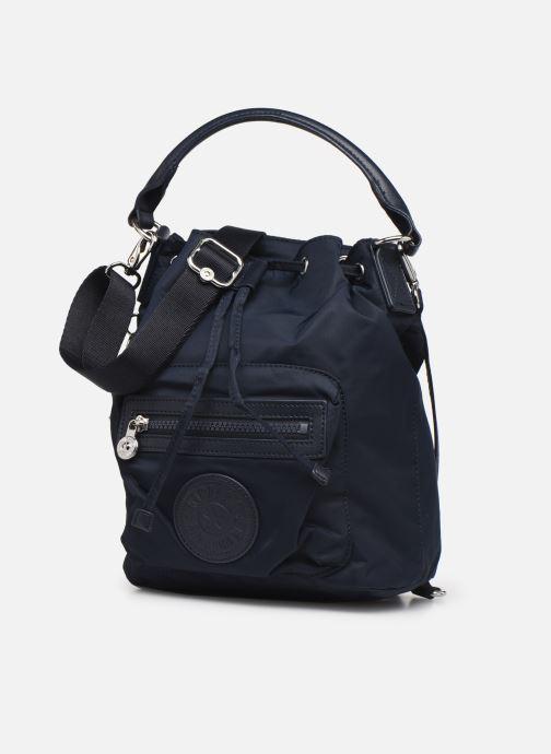 Bolsos de mano Kipling Violet S Azul vista del modelo