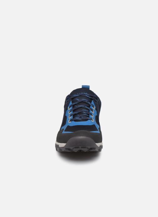 Baskets Aigle Douvet Gtx Bleu vue portées chaussures