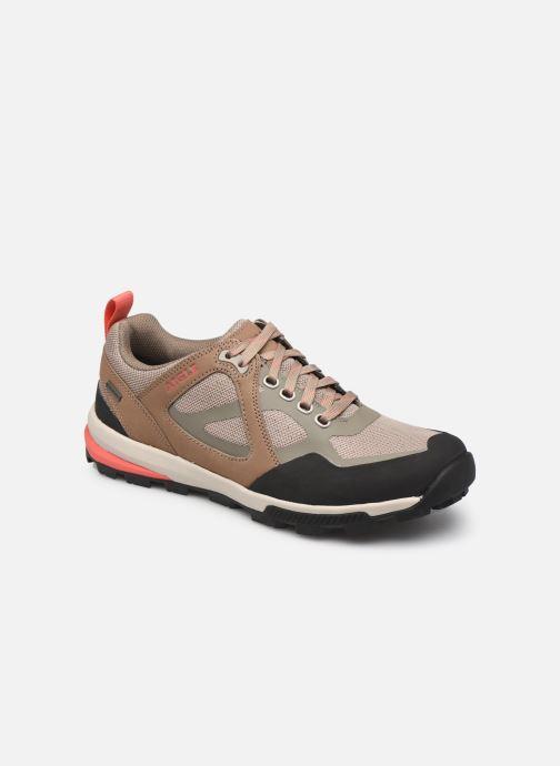 Sneakers Aigle Douvet W Gtx Bruin detail