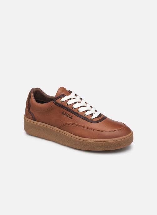 Sneaker Aigle Ormea Low W braun detaillierte ansicht/modell