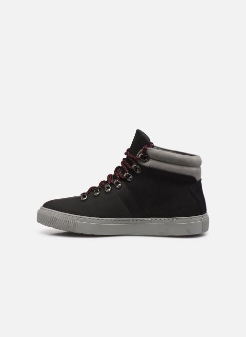 Sneakers Aigle Saguvi Mid Zwart voorkant
