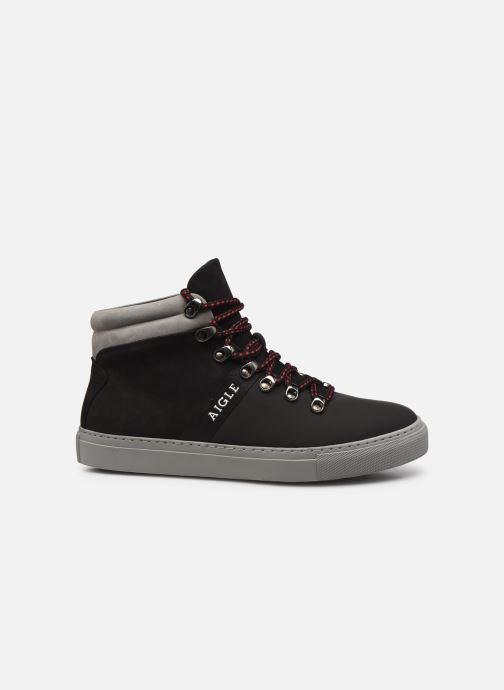 Sneakers Aigle Saguvi Mid Zwart achterkant