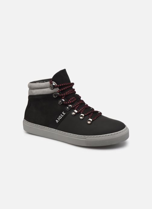 Sneakers Aigle Saguvi Mid Zwart detail