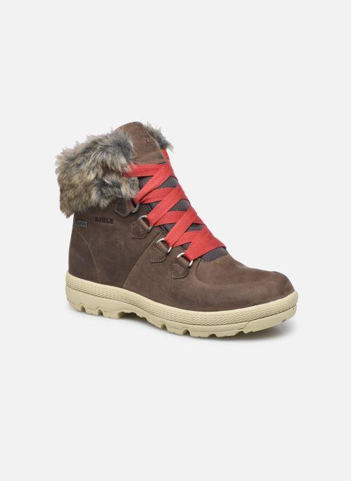 Boots en enkellaarsjes Aigle Tl Retro W Gtx Grijs detail