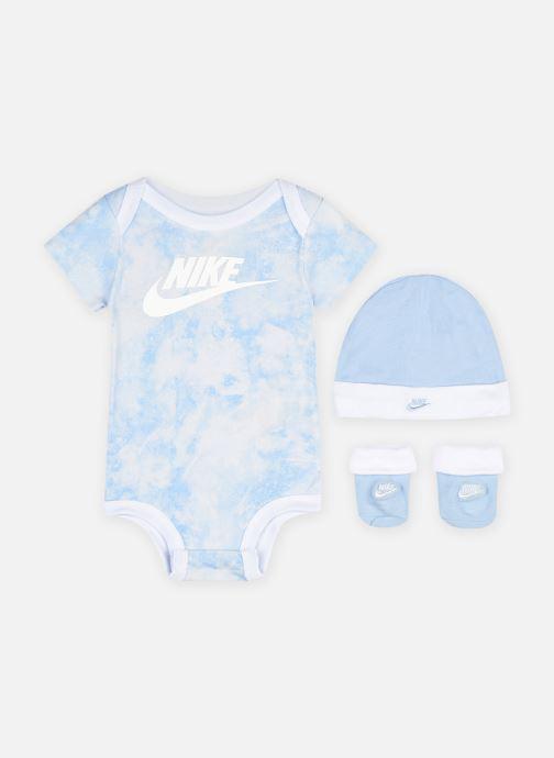 Kleding Nike Tie Dye Futura Hat/Bodysuit/Bootie 3 Pc Blauw detail