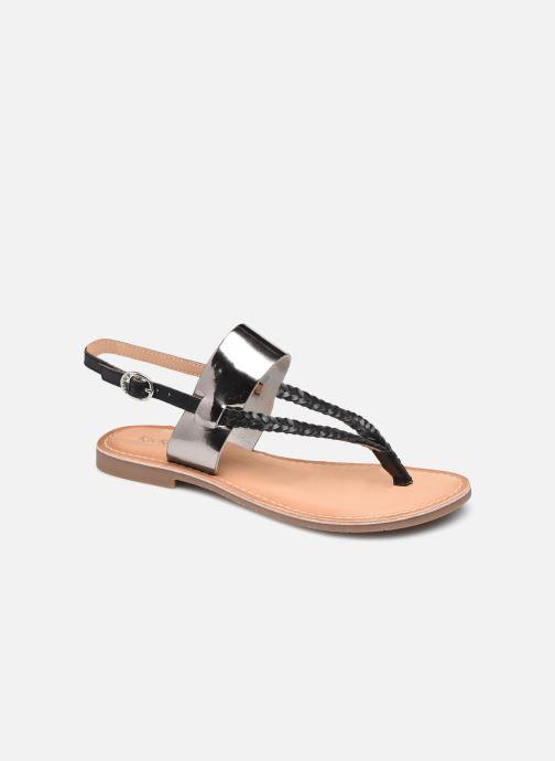 Sandales et nu-pieds Kickers ESTHERA Noir vue détail/paire