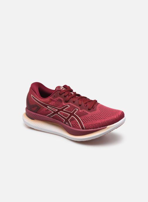 Chaussures de sport Asics Glideride Rose vue détail/paire