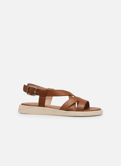 Sandali e scarpe aperte Geox D TAORMINA Marrone immagine posteriore