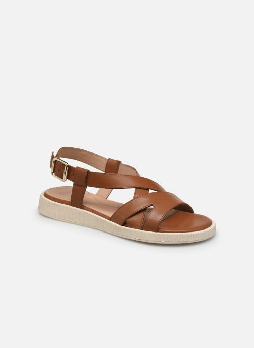 Sandali e scarpe aperte Geox D TAORMINA Marrone vedi dettaglio/paio