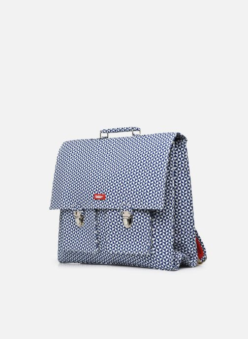 Scolaire Bakker Made With Love CARTABLE GRANDE CLASSE canvas bakker - sails Bleu vue portées chaussures