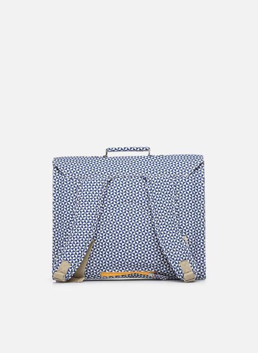 Scolaire Bakker Made With Love CARTABLE GRANDE CLASSE canvas bakker - sails Bleu vue face