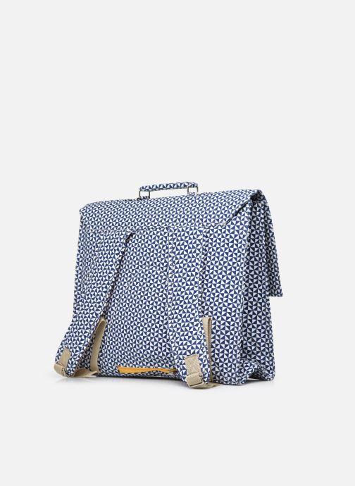 Scolaire Bakker Made With Love CARTABLE GRANDE CLASSE canvas bakker - sails Bleu vue droite