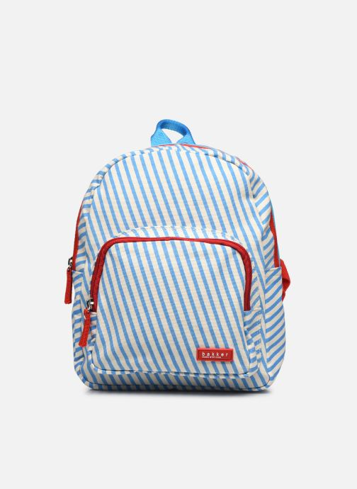 BACKPACK MINI canvas capsule - stripes sky