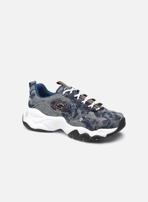 Sneakers Skechers D'LITES 3.0/DENIM BARBARA Blauw detail