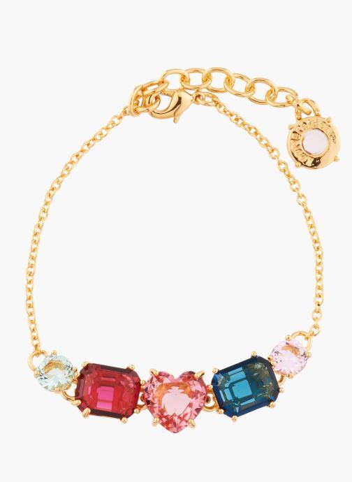 Divers Les Néréides Paris Bracelet fin  - La Diamantine Multicolore vue détail/paire
