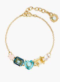 Bleu Azur - gold