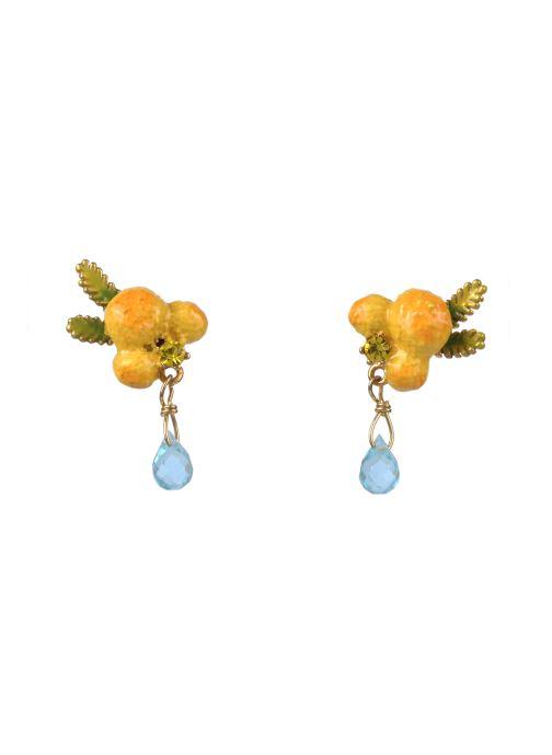 Boucle d'oreille tige  - Jardins De Provence