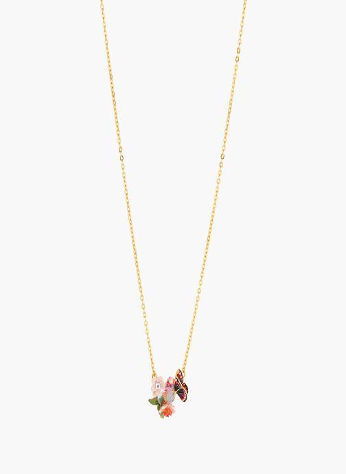 Divers Les Néréides Paris Collier plastron  - Hanami Multicolore vue détail/paire