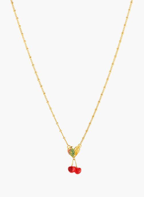 Sonstiges Les Néréides Paris Collier pendentif  - Exquise Cerise rot detaillierte ansicht/modell