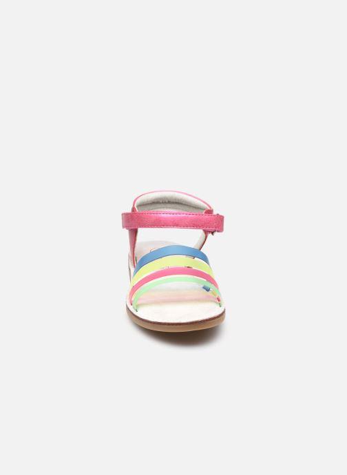 Sandales et nu-pieds NA! Amara Multicolore vue portées chaussures