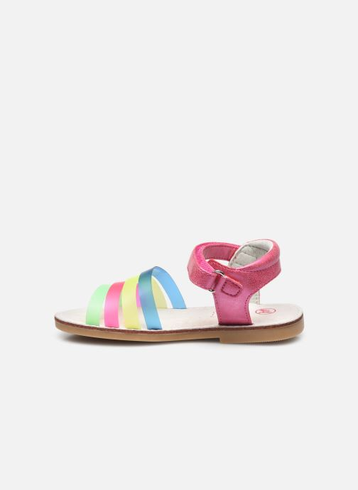 Sandales et nu-pieds NA! Amara Multicolore vue face