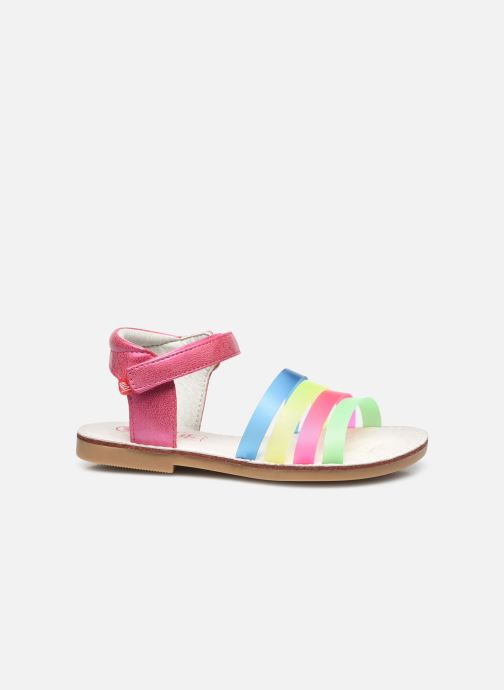 Sandales et nu-pieds NA! Amara Multicolore vue derrière