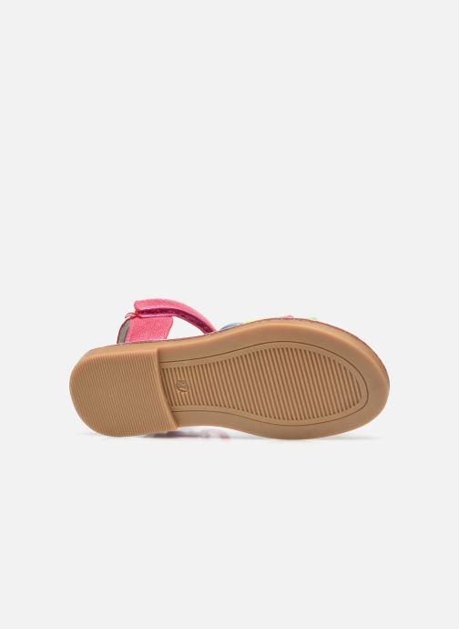 Sandales et nu-pieds NA! Amara Multicolore vue haut