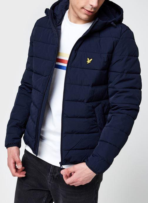 Kleding Lyle & Scott Lightweight Puffer Jacket Blauw detail