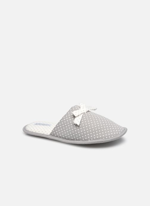 Pantuflas Mujer Chaussons mules à pois Femme