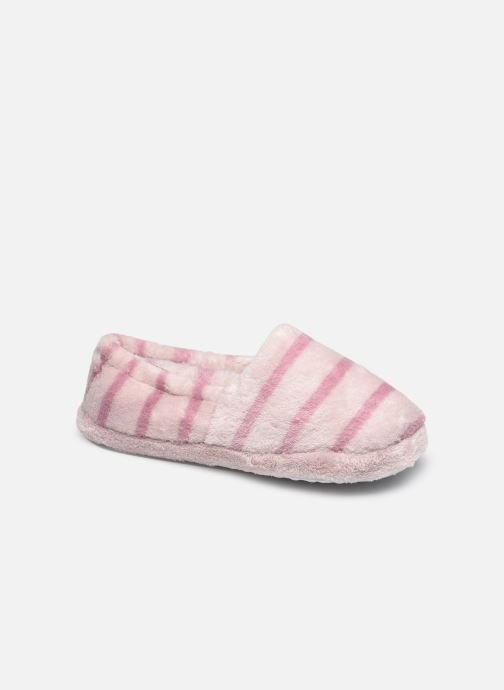 Chaussons - Chaussons rayés enfant fille