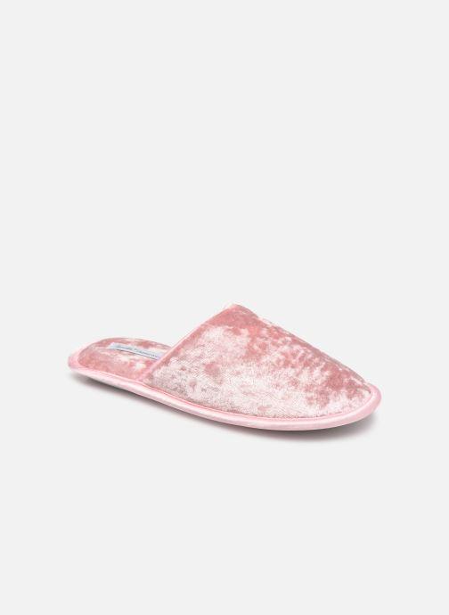 Pantoffels Sarenza Wear Chaussons glitters enfant Roze detail