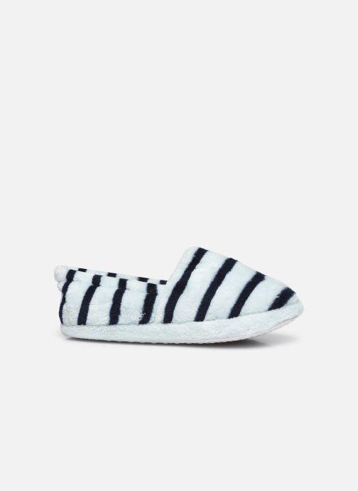 Pantoffels Sarenza Wear Chaussons rayés enfant Blauw achterkant