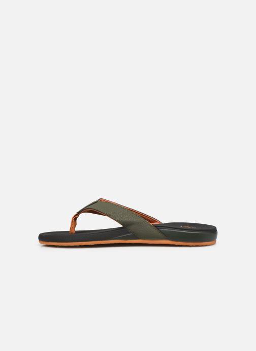 Zehensandalen I Love Shoes Tongs Unies Homme grün ansicht von vorne