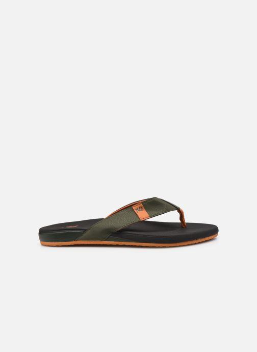 Zehensandalen I Love Shoes Tongs Unies Homme grün ansicht von hinten
