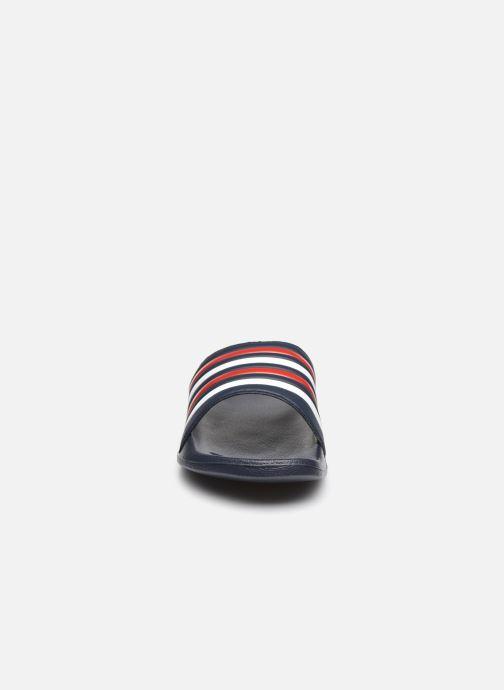 Sandalen I Love Shoes Claquette Rayées Homme rot schuhe getragen