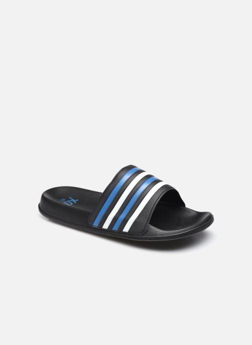 Sandales et nu-pieds I Love Shoes Claquette Rayées Homme Bleu vue détail/paire