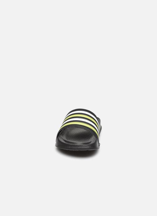 Sandali e scarpe aperte I Love Shoes Claquette Rayées Enfant Giallo modello indossato