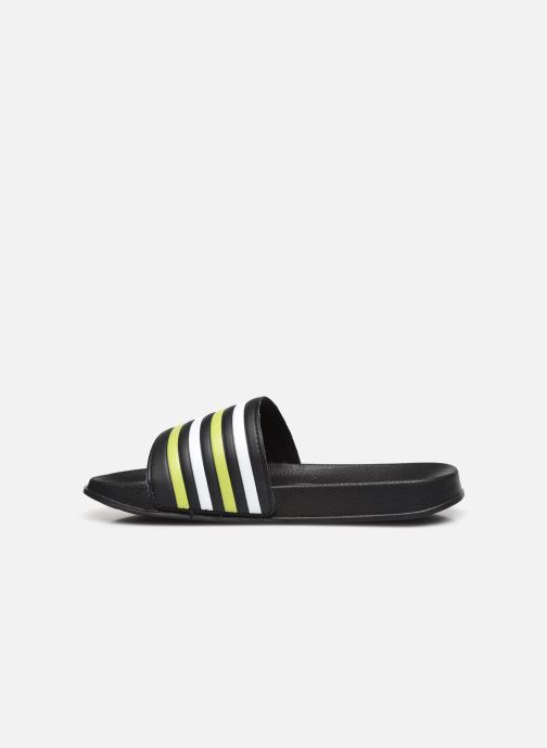 Sandali e scarpe aperte I Love Shoes Claquette Rayées Enfant Giallo immagine frontale