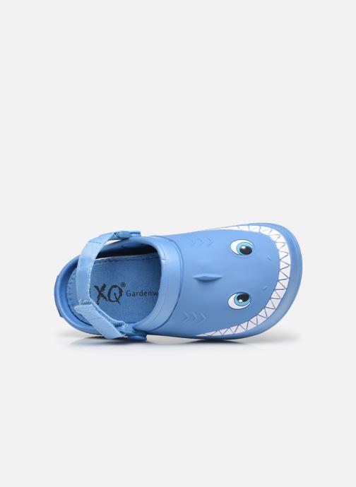 Sandali e scarpe aperte I Love Shoes Sandales Plastique Requin Enfant Azzurro immagine sinistra