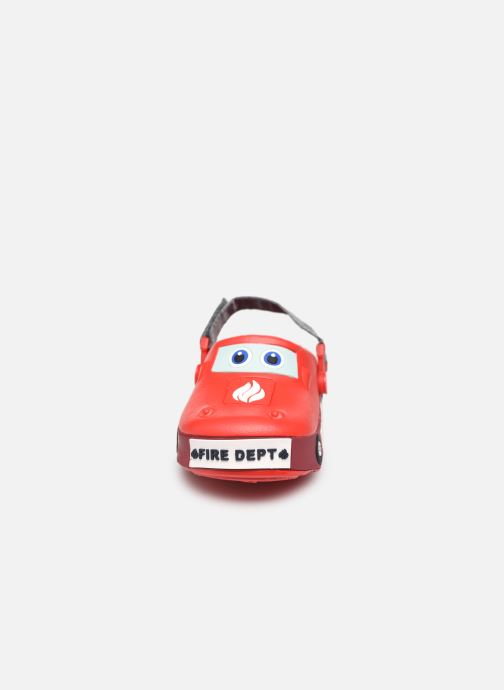 Sandali e scarpe aperte I Love Shoes Sandales Plastique Pompiers Enfant Rosso modello indossato