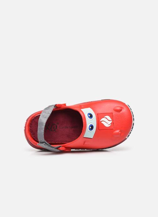 Sandali e scarpe aperte I Love Shoes Sandales Plastique Pompiers Enfant Rosso immagine sinistra