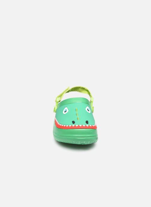 Sandali e scarpe aperte I Love Shoes Sandales Plastique Crocodile Enfant Verde modello indossato