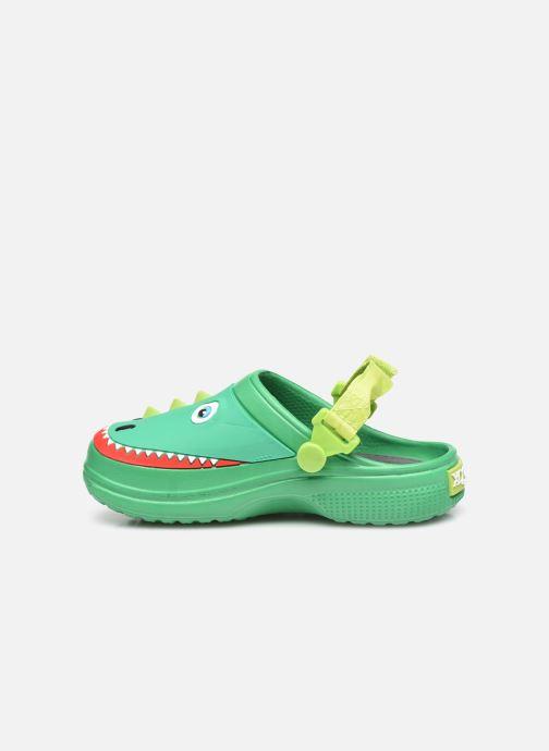 Sandali e scarpe aperte I Love Shoes Sandales Plastique Crocodile Enfant Verde immagine frontale