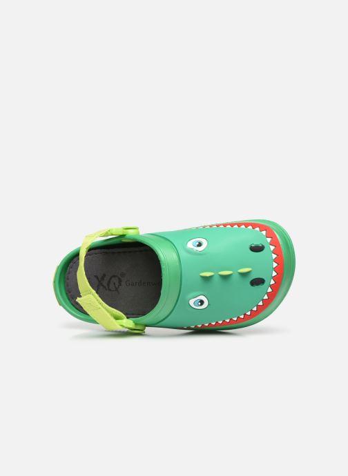 Sandali e scarpe aperte I Love Shoes Sandales Plastique Crocodile Enfant Verde immagine sinistra