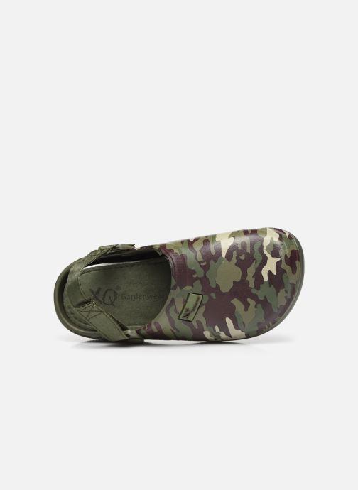 Sandali e scarpe aperte I Love Shoes Sandales Plastique Militaires Enfant Garçon Verde immagine sinistra