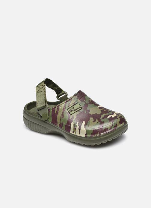 Sandales et nu-pieds I Love Shoes Sandales Plastique Militaires Enfant Garçon Vert vue détail/paire