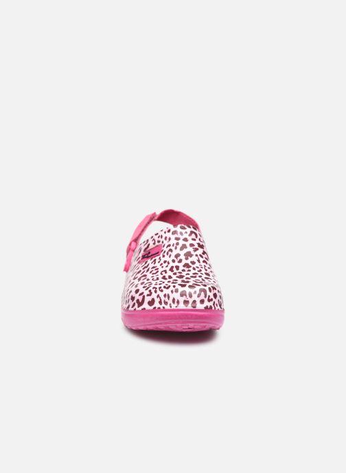 Sandali e scarpe aperte I Love Shoes Sandales Plastique Animal Enfant Fille Rosa modello indossato
