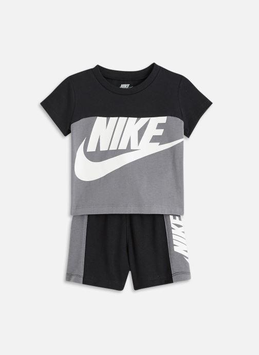 Kleding Nike Nkb Nsw Ss Amplify Short Set Zwart detail